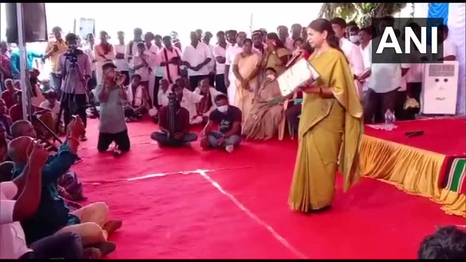 തമിഴകത്ത് താമര വിരിയില്ല- കനിമൊഴി